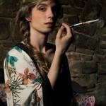 The jazz spotlight | Fotografía estilo años 50 | Chica fumando | By Aryane Moon