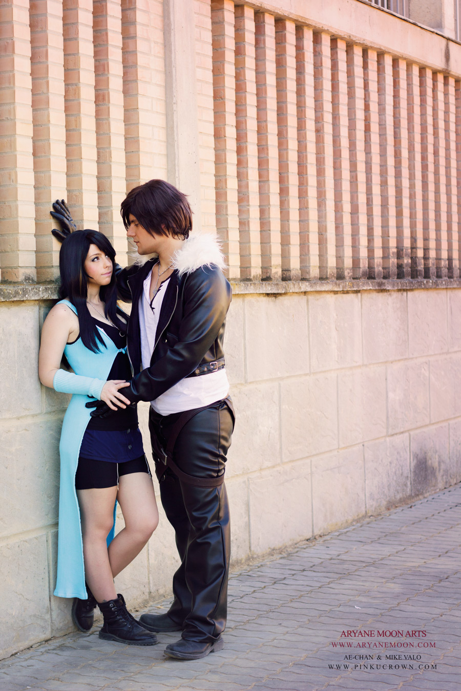 Cosplay Rinoa & Squall (Ae-Chan & Mike Valo) by Aryane Moon