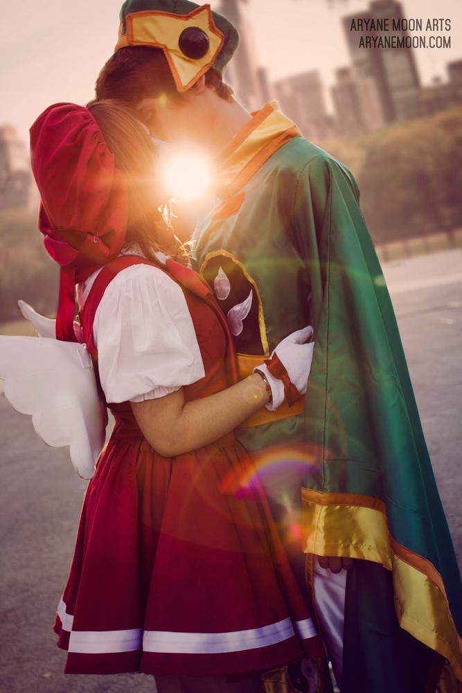 Sakura & Syaoran Kiss Cosplay | XX Salón del Manga de Barcelona 2014