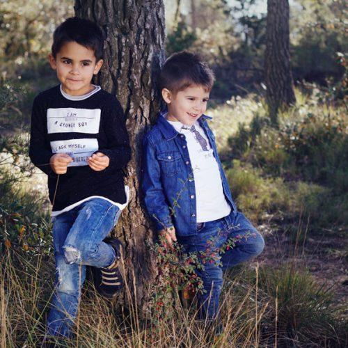 A & M - Fotografía de niños - Fotos Comunión & Bautizo hermanos